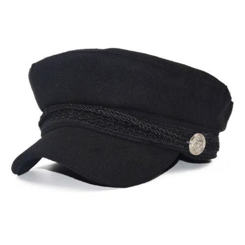 Ladies Womens Girls Wool Blend Baker Boy Peaked Cap Newsboy Hat Female  Fashion Berets 56- d69e0056afaf