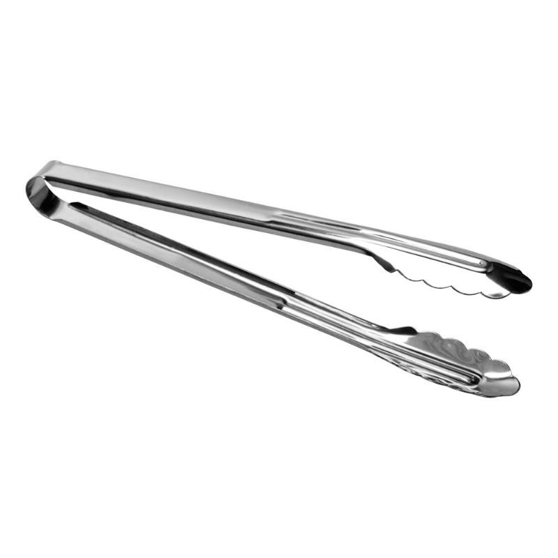 Stainless Steel BBQ Tongs Meat Food Bread Cake Clip Barbecue Cooking Clamp Kitchen Accessories