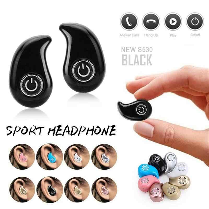 Bezprzewodowe słuchawki Bluetooth S530 aktualizacji słuchawki douszne Mini Stealth muzyka Stereo czarny dla V4.1 + EDR biały niebieski różowy różowe złoto srebrny
