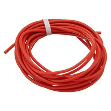 3Meter Spare Part 18AWG High Temperature Resistant Red Silicone Wire(China)