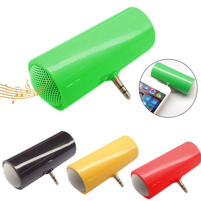 3,5mm AUX directa insertar Mini altavoz estéreo Portable teléfono altavoz MP3 del altavoz de la música para la tableta del teléfono móvil