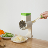 Manual Multifunctional Vegetable Shredder Cutter Hand Drum Rotary Grater Slicer Gadgets Potato Cheese Kitchen Accessories #3