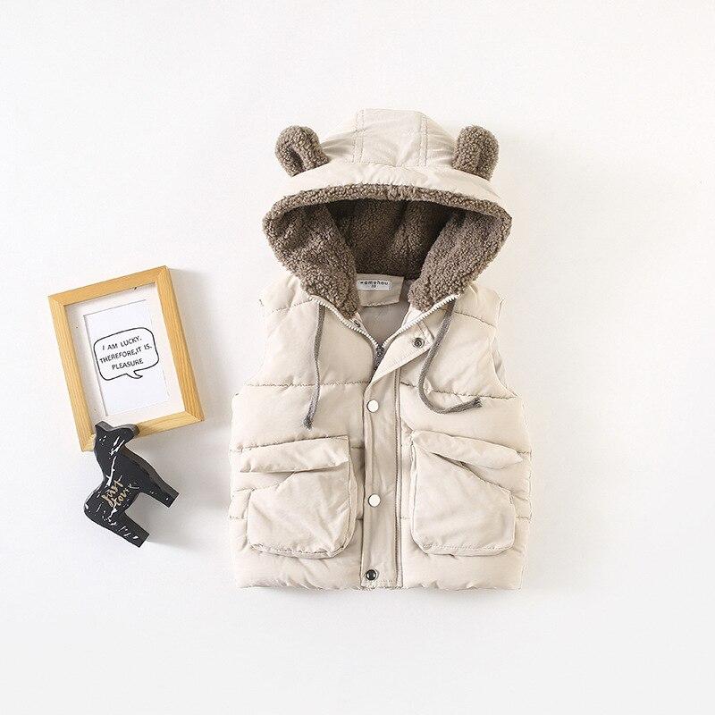 e88fa185e508 2018 New Pattern Ears Even Hat Children Vest Pocket Children Vest ...