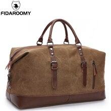 キャンバス男性トラベルバッグ大容量革荷物ダッフルバッグ旅行ダッフル折りたたみ旅行バッグ