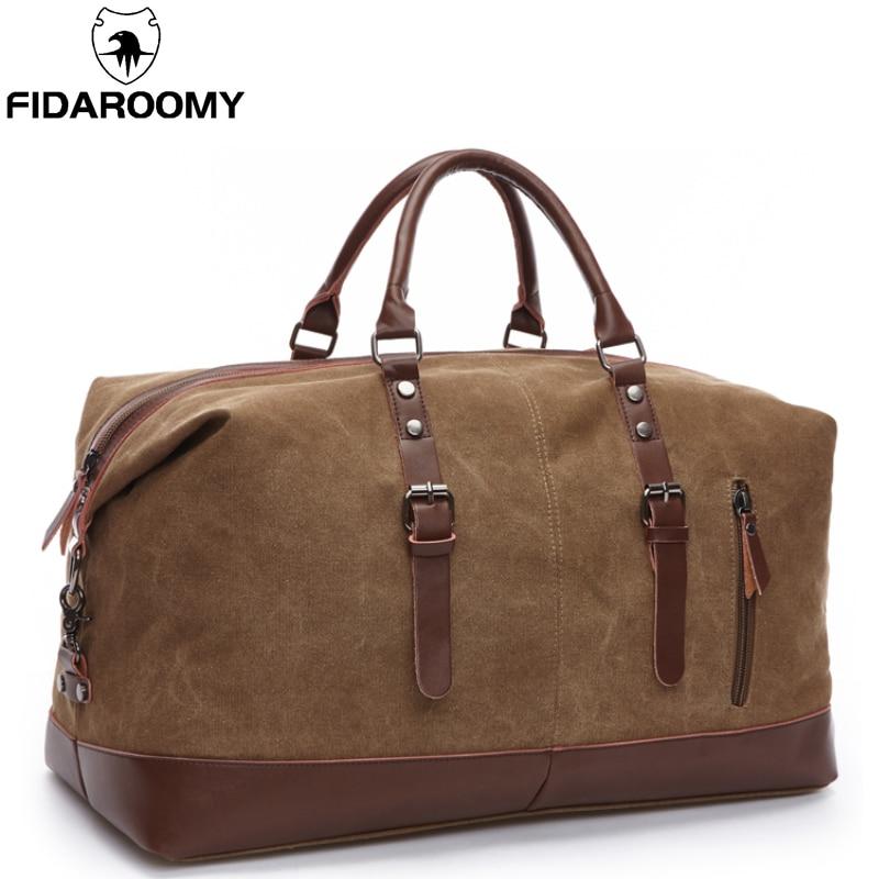 Sacs de voyage pour hommes bagages de grande capacité sacs de voyage en toile grand sac à main de voyage sac de voyage pliant hydrofuge