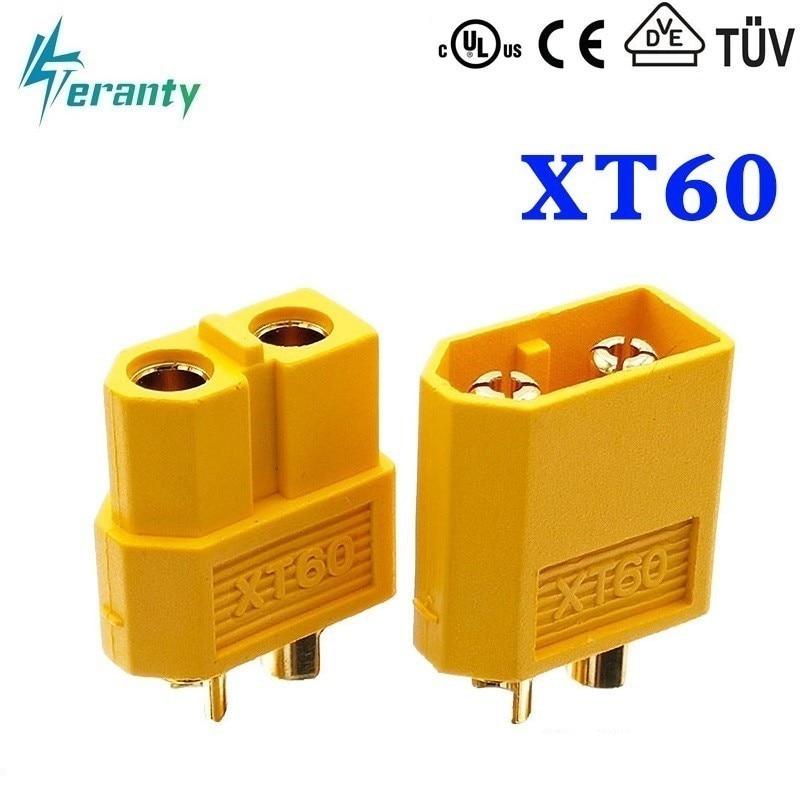 2pcs/sets XT30 XT60 XT90 Plug Male Female Bullet Connectors Plugs For RC Lipo Battery T Plug For Aircraft Accessories Parts