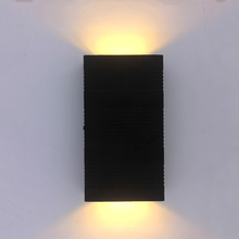 Waterproof Garden Light LED Wall Sconce Modern Outdoor Up and Down Home Hotel  Indoor Aluminum Lamp Decorate