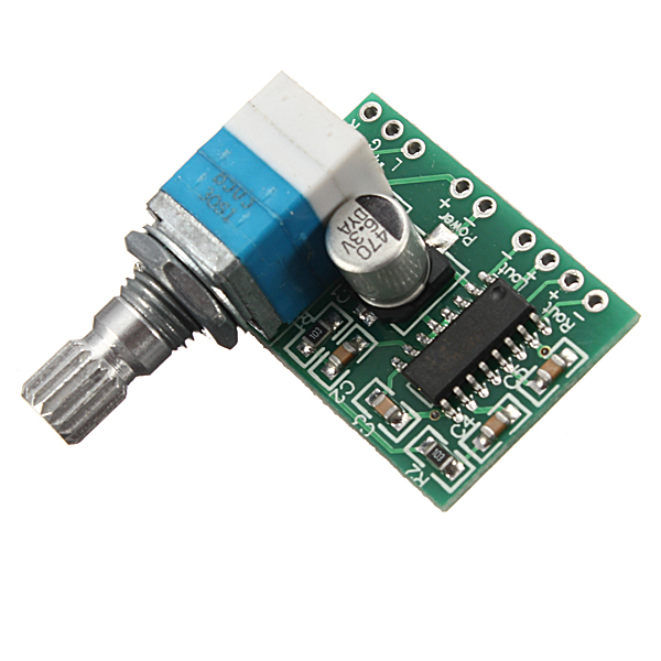 Amplifier Board Volume-Control PAM8403 Power Audio 2-Channel Electronic 3wx2 5V