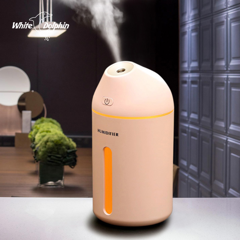 Ultrasonic Aromatherapy Essential Oil Aroma Diffuser Cool Mist Humidifier Car With LED Lights Air Humidifier USB цена