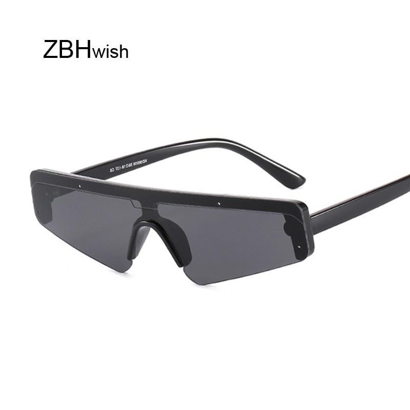 Vintage Retro Shield Visor Sunglasses Women Men 2019 Oversized Windproof Glasses One Peice Big Frame Goggles Sun Glasses Female