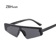 Vintage Retro Shield Visor Sunglasses Women Men 2019 Oversiz