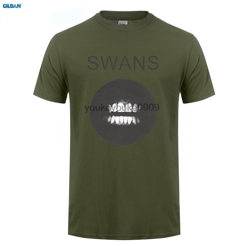 GILDAN  Swans Filth Rock Music Band CD T-Shirts Unisex SN2 Tshirt Style Fashion Men T Shirts Print Cotton High Quality