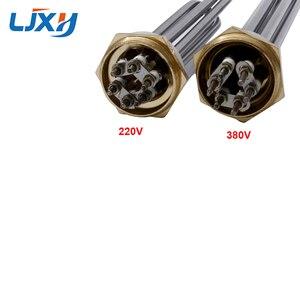 Image 5 - Ljxh DN32 Máy Nước Nóng Làm Nóng Với Interal Hạt 220 V/380 V 304SUS Ống Đầu Ốc Đồng 3KW /4.5KW/6KW/9KW/12KW
