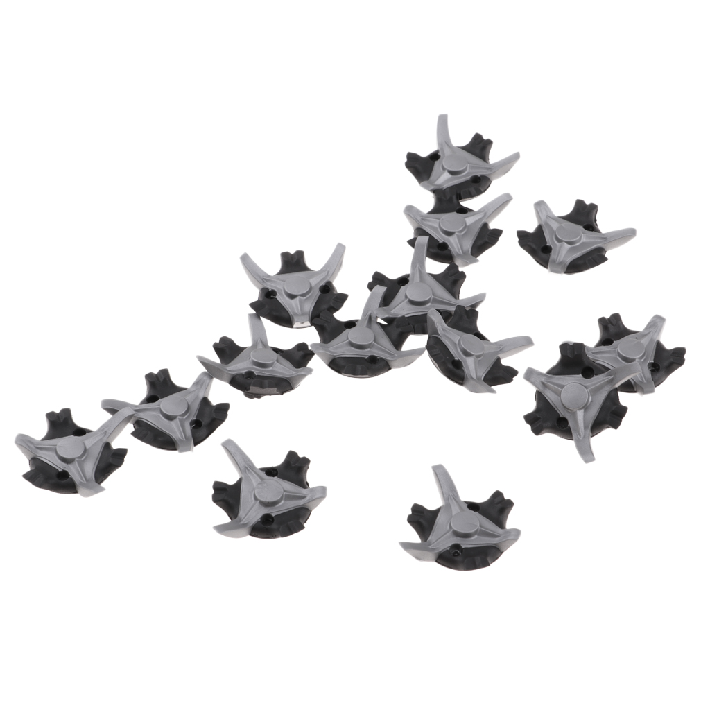 14Pcs Professional Metal Thread Replacement Golf Shoe