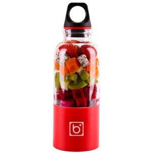 Image 1 - 500 мл портативная соковыжималка, чашка USB аккумуляторная электрическая автоматическая бинго овощи фрукты инструменты для соков чаша для блендера миксер Bottl