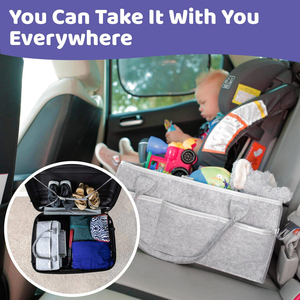 Image 3 - Baby Diaper Caddy Organizer Portable Holder Bag for Changing Table and Car, Nursery Essentials Storage bins