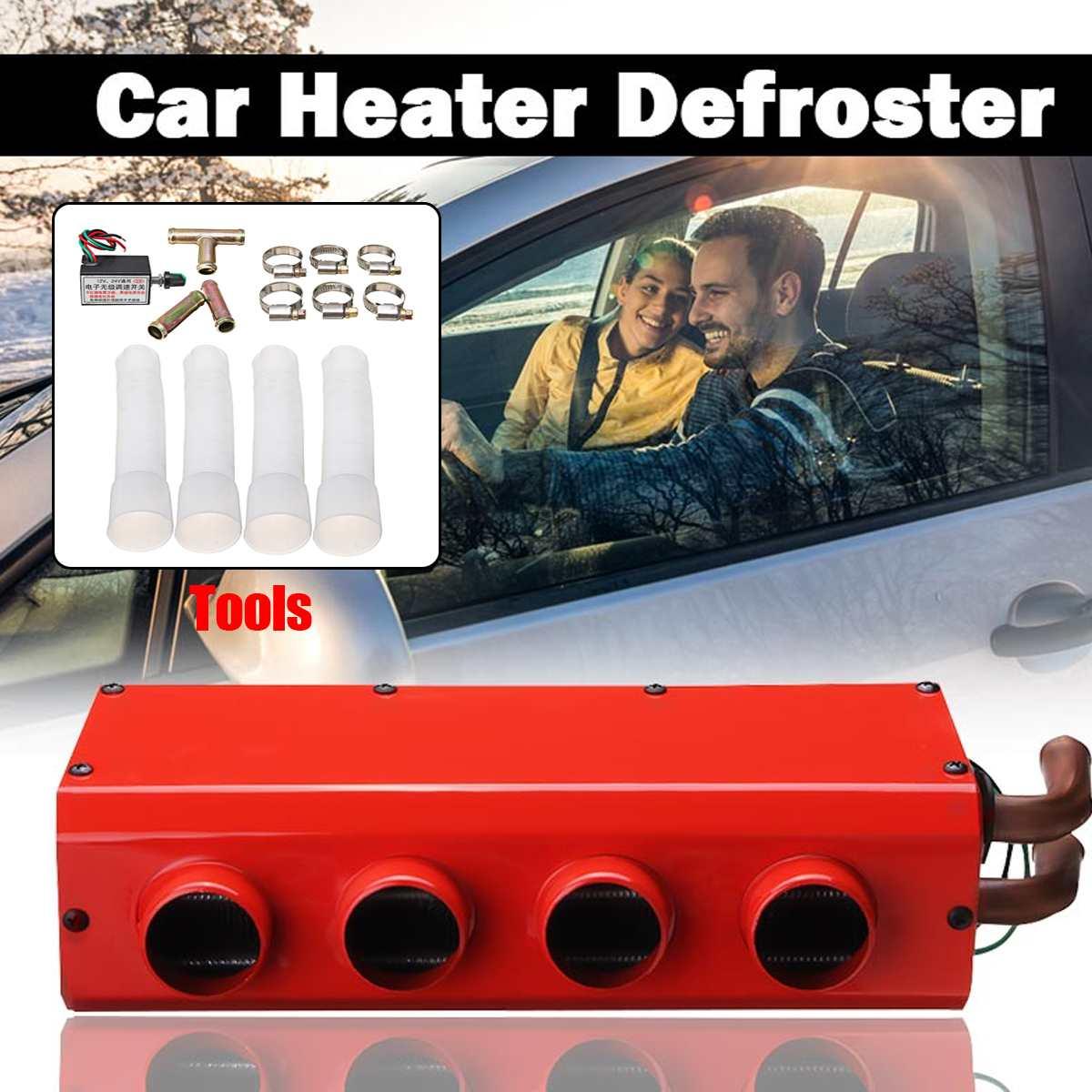 Автомобильный обогреватель 26W 12 V/24 V Дизели нагреватель авто лобовое стекло Demister для автомобиля грузовых автомобилей с Скорость переключат