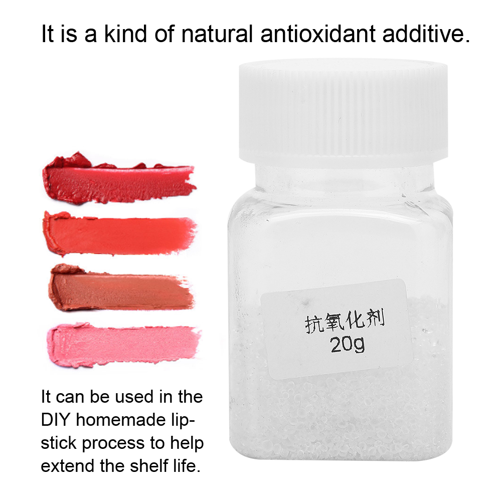 US $2 78 38% OFF 20g DIY Lipstick Homemade Natural Antioxidant Extend Shelf  Life Prevent Deterioration Hardening Non Toxic Silica Gel Desiccant-in