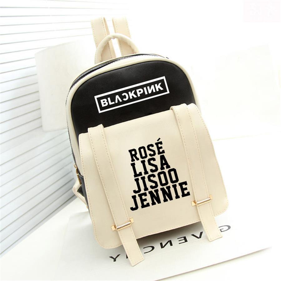 Expressive Kpop Blackpink Rose Lisa Fashion Backpack School Stationery Jennie Jisoo Shoulder Bag Travel Sports Rucksack Skilful Manufacture