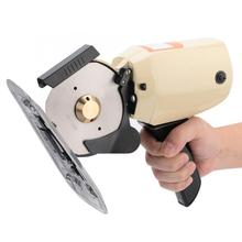220V/300W 110mm Rotary Blade Portable Handheld Electric Round Cloth Cutter Fabric Trimming Cutting Machine electric cloth knife 220v 110v 170w fabric cutting tools leather cloth electric cutter machine blade power tools cutting saws