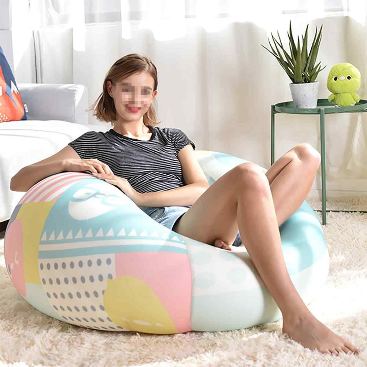 Сумка для дивана, чехол для кресла, диван для отдыха, османское сиденье, мебель для гостиной, без наполнителя, Beanbag, кровать, пуф, диван, ленивый татами