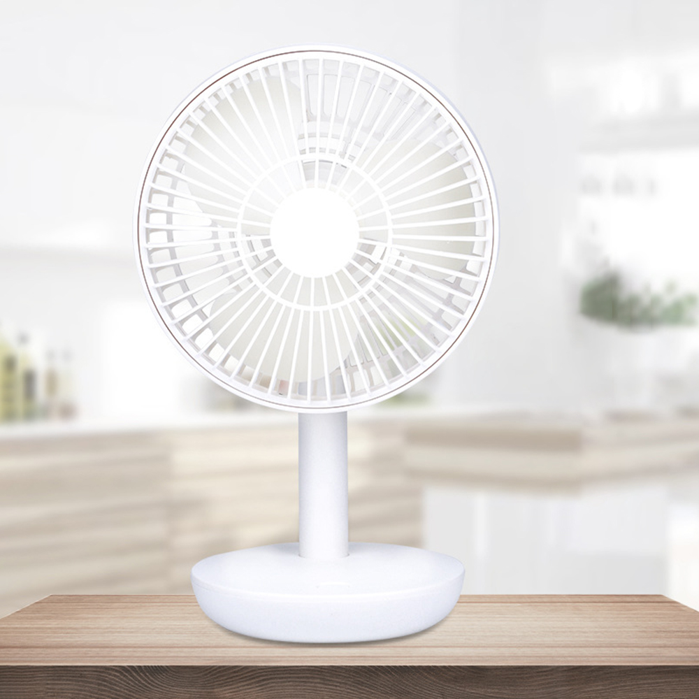 Portable USB Rechargeable Handheld Fan Cooling Desktop Table Fan 4 adjustable gears Mini Cooler for Home Office Outdoor #3