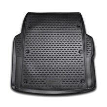 Для BMW 3-серии F30 2012-2019 седан черный коврик для багажника автомобиля элемент NLC0531B10