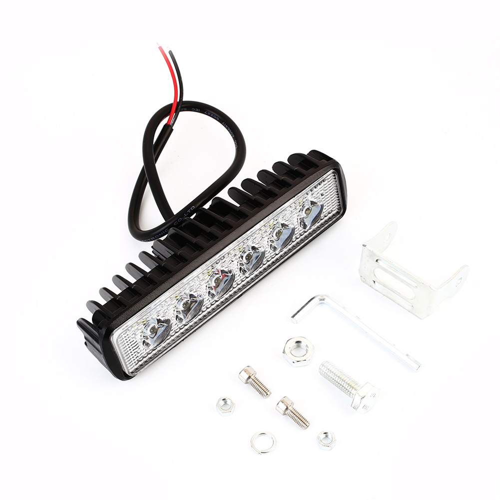 Vehemo Wired Waterproof LED Light Light Bar Offroad Durable SUV Floodlight Work Light Car Truck Driving Lamp Car Accessories