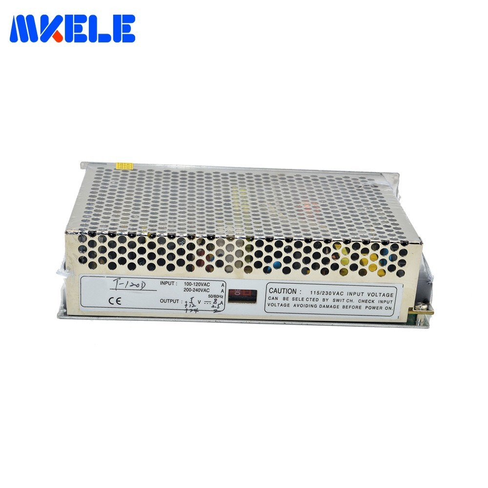 T-120C 5V/9V12V SMPS Triple Output Switching Power Supply Customized Fast Delivery Triple Output Type Switch Power SupplyT-120C 5V/9V12V SMPS Triple Output Switching Power Supply Customized Fast Delivery Triple Output Type Switch Power Supply