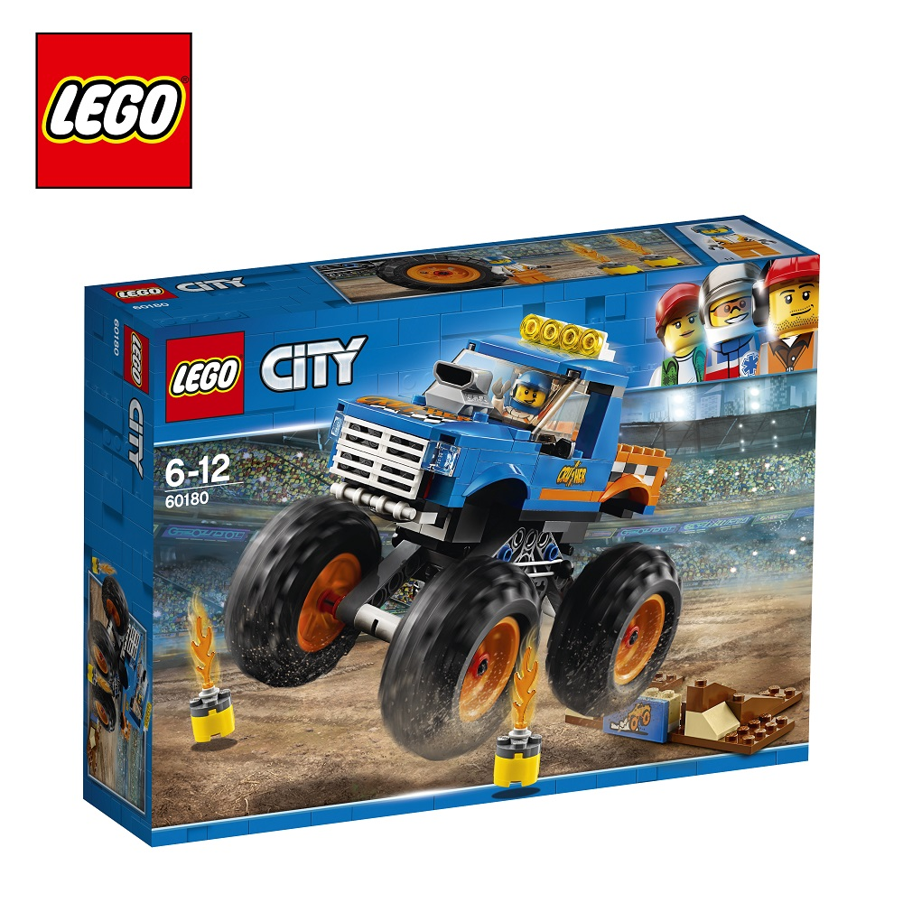 Blocks LEGO 60180 City play designer building block set  toys for boys girls game Designers Construction compatible legoing building city street view moc block le petit paris restaurant with led lights bricks toys for kid gift
