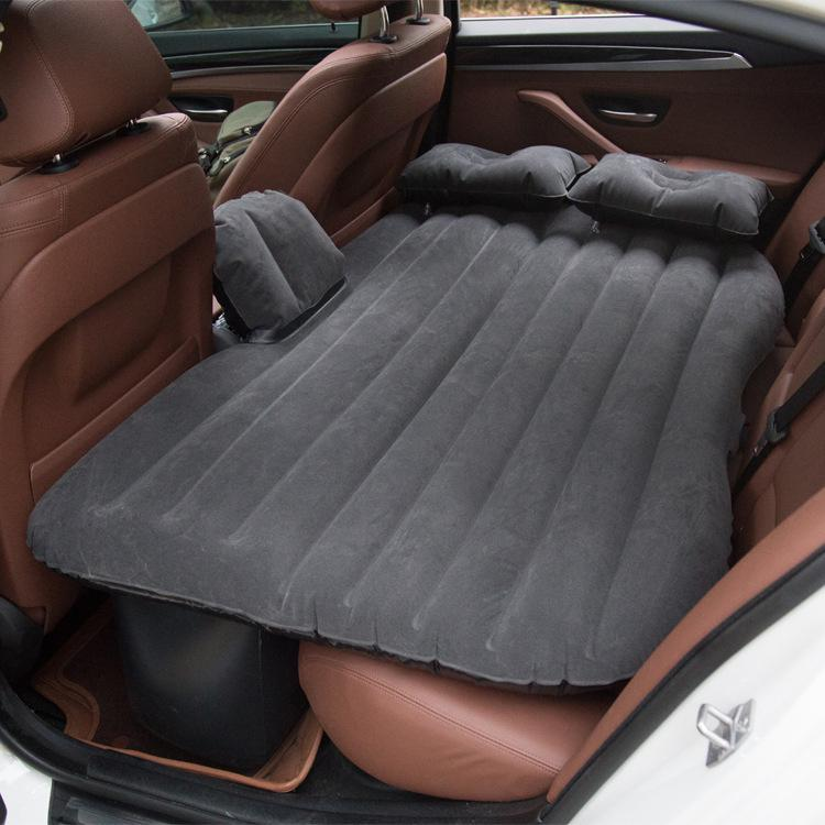 Air Mattress Travel Camping Bed Inflatable Mattress Inflatable Cushion Auto Back Seat Cover Sofa Pillow Car Interior Parts 1