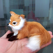 1 Pcs Simulation Animal Foxes Plush Toy Doll Photography for Children Kids Birthday Gift YJS Dropship