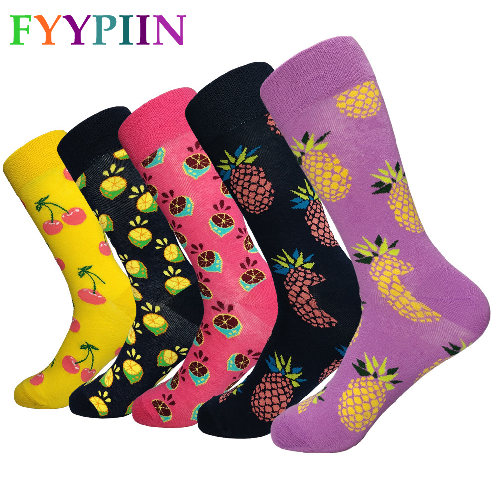 Happy Socks Sokken 2019 Socks Men's High-quality Lengthened To Increase Fashion Casual The Latest Models Of Happiness Clothes