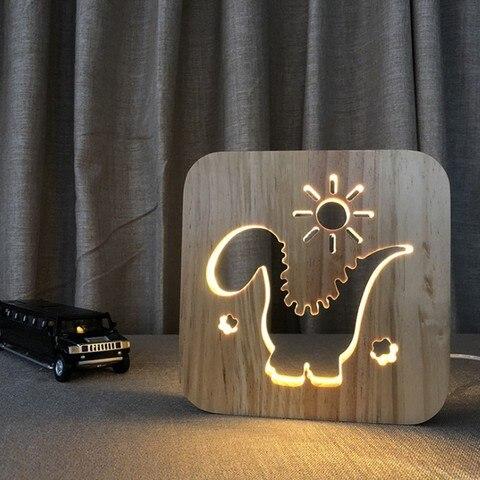 arte criativa de madeira cafe luz lampada