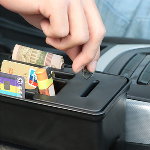 Image 4 - Car Seat Crevice Storage Organizer Console Side Pocket Auto Seat Gap Pocket Organizer with Coin Box and Water Cup Holder