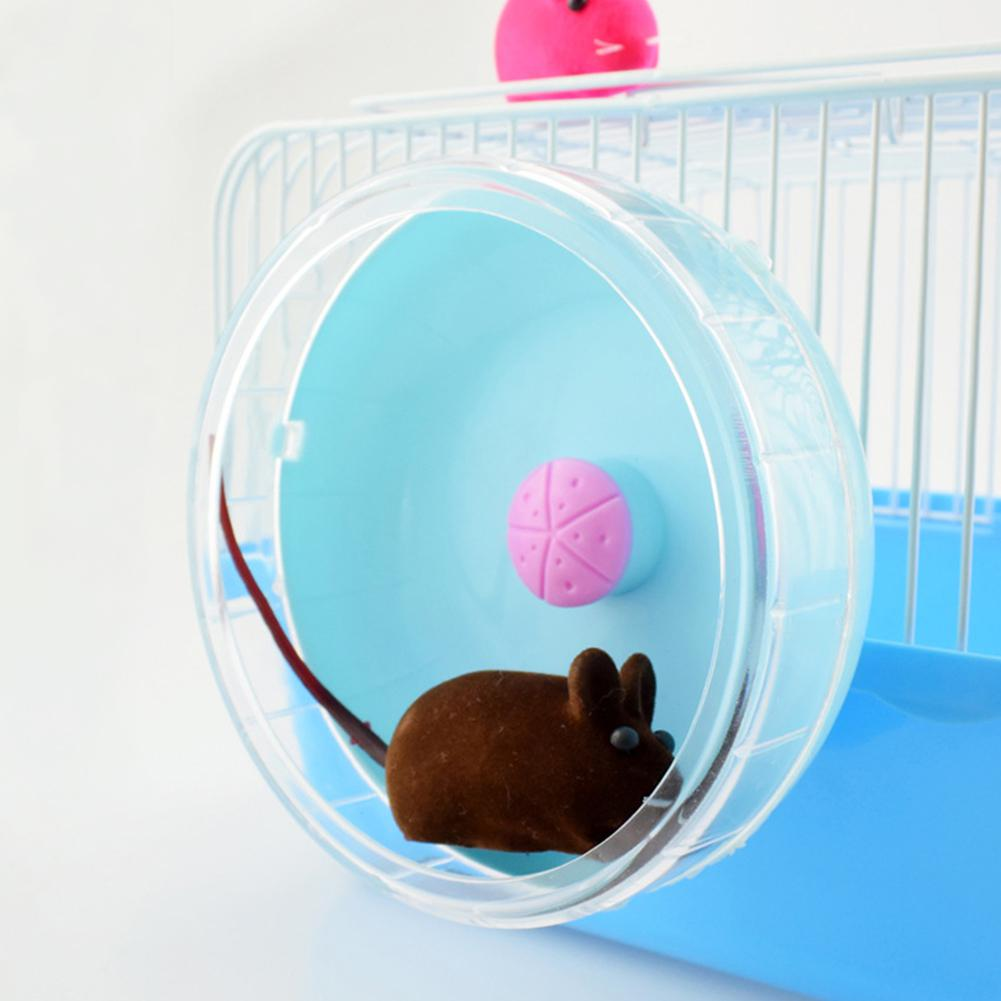 AsyPets Cute Exercise Wheel Roller Silent Sports Pet Toy For Hamster