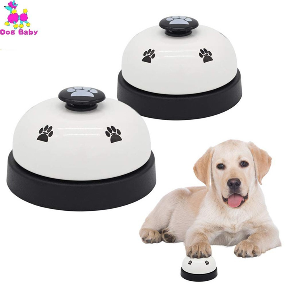 Classical Dog Training Bell font b Pet b font Feeding Ringer Educational Toy IQ Training Puppy
