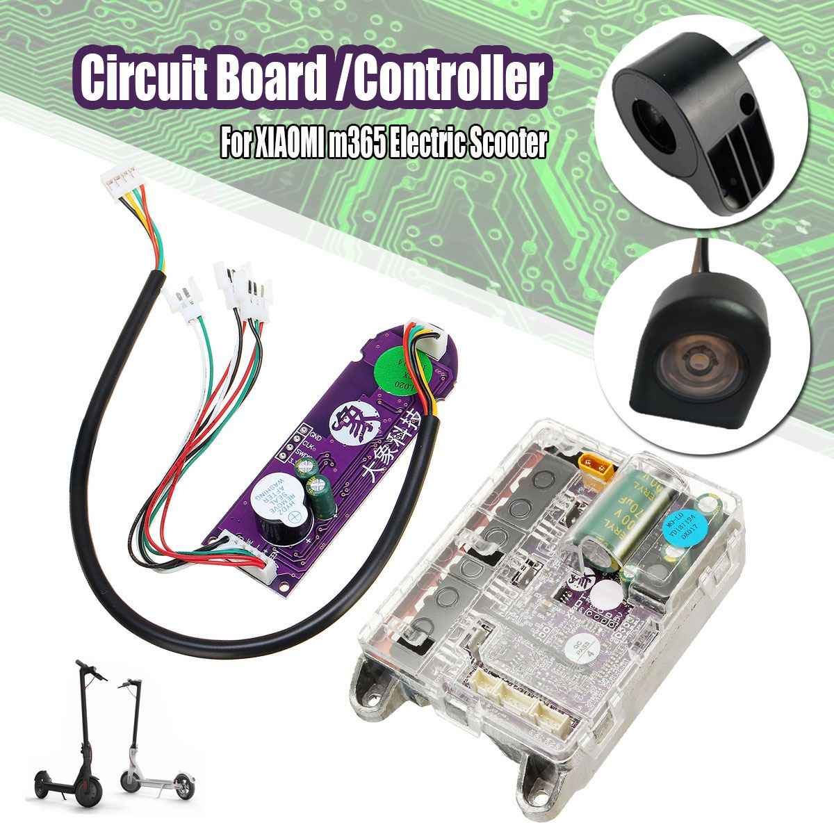 Scooter Controller Controller Replaceme Motherboard Circuit