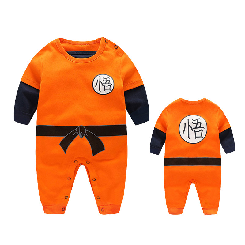 Superman Sun WuKong 100% Cotton Babys Jumpsuit Baby Boy Girl Clothes Baby Clothing  Rompers Dragon Ball Long SleeveSuperman Sun WuKong 100% Cotton Babys Jumpsuit Baby Boy Girl Clothes Baby Clothing  Rompers Dragon Ball Long Sleeve