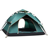 TANXIANZHE 3 Second Quick Automatic Opening Double Layer Build Tent Field Camping Beach Outdoor Camping Waterproof Tents