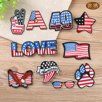 USA Assorted Patches