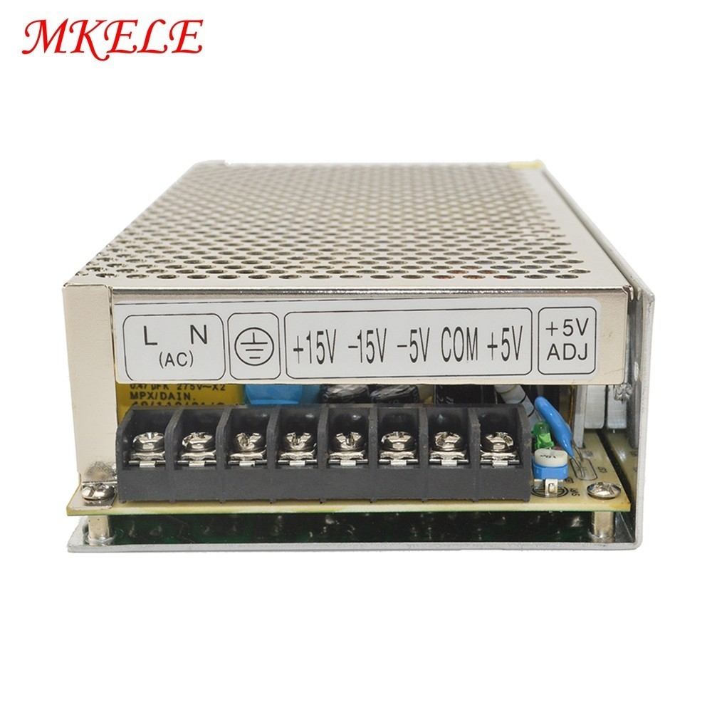 Wholesale Quad Output AC To DC Switching Power Supply Source 5v 12v 15v 24v Q-120EWholesale Quad Output AC To DC Switching Power Supply Source 5v 12v 15v 24v Q-120E