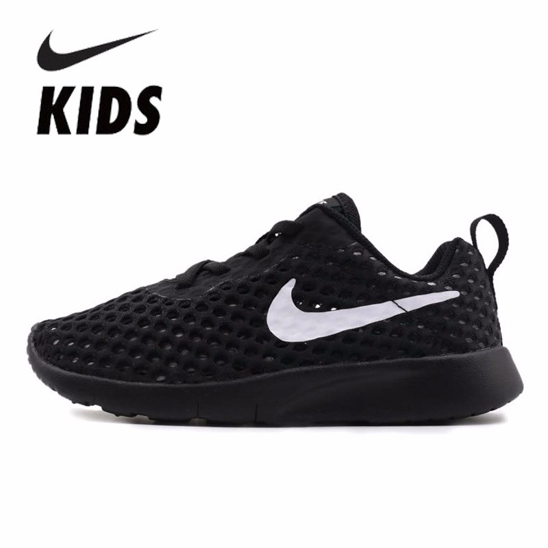 bd7377ad26 Detail Feedback Questions about Nike Kids 2018 New Pattern Mesh Shoes In  Will Child Ventilation Sneakers For Kids Running Shoes AO9604 001 on  Aliexpress.com ...
