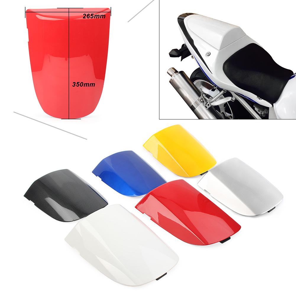 GSXR600 GSXR750 Motorcycle Rear Pillion Passenger Cowl Seat Back Cover For Suzuki <font><b>GSXR</b></font> <font><b>600</b></font> <font><b>GSXR</b></font> 750 <font><b>2001</b></font> 2002 2003 01 02 03 image