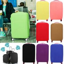 Многоцветная эластичная Защитная дорожная сумка для чемодана с защитой от пыли и царапин