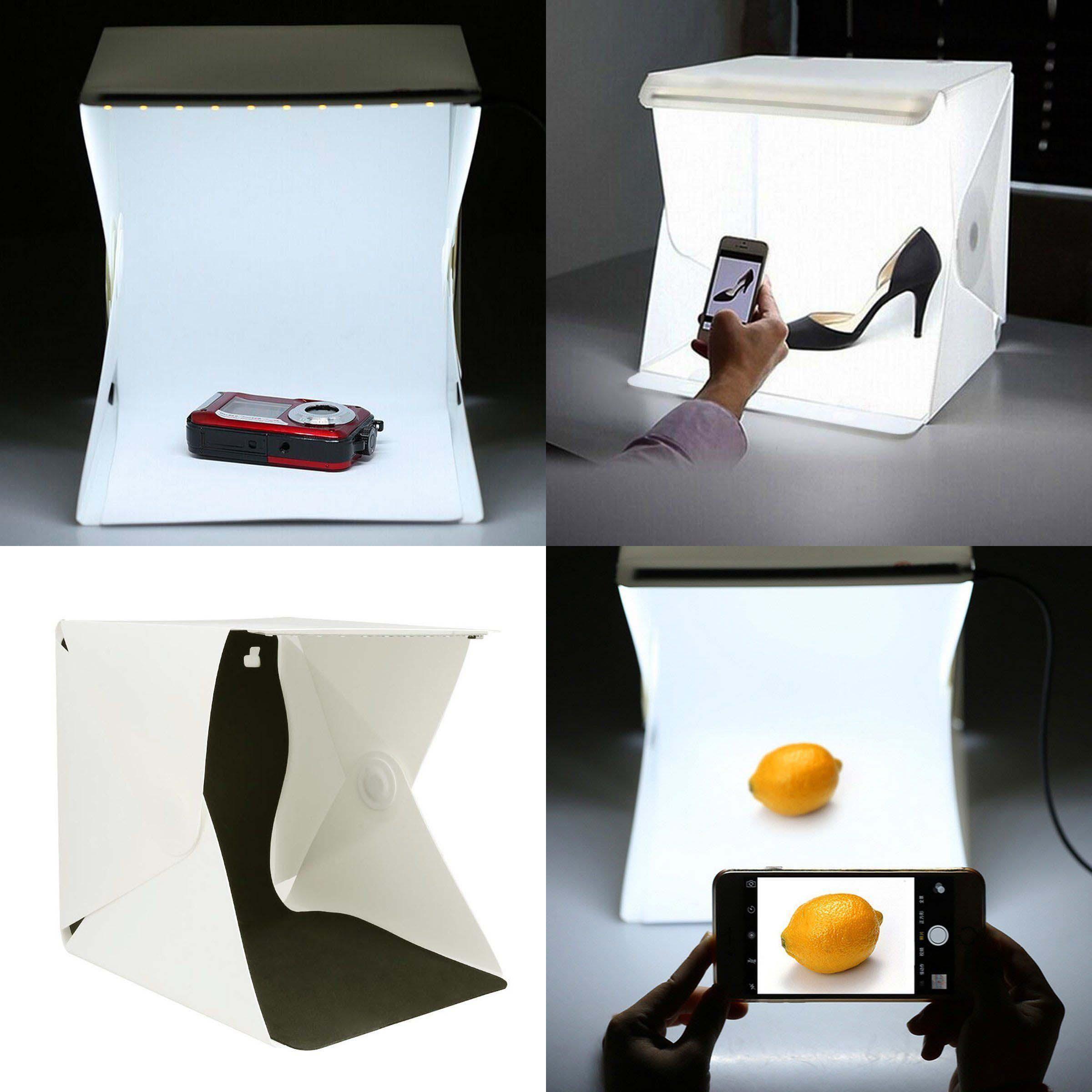 Cube Mini Photography Box Mini Light Room Photography Studio Tent Lighting LED Kit Backdrop Foldable Creative Distinctive