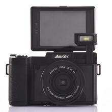 Home Mini Digital Camera AMK-CDR2 24 Megapixel 1080P HD Shooting 4X Zoom Self-timer Camera With 3