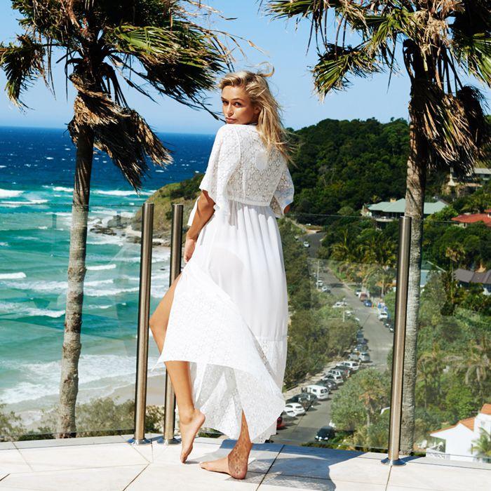Women Beachwear Bikini Beach Wear Cover Up Long Blouse Shirt Maxi Dress Bandage See-through Cardigan Women Summer Clothing Women's Clothing