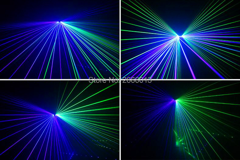 Image 5 - Six Eyes RGB Scan Full Color Laser/Laser Stage Lighting For DJ Disco Party KTV Nightclub And Dance Floor/Laser Show System/Beam-in Stage Lighting Effect from Lights & Lighting