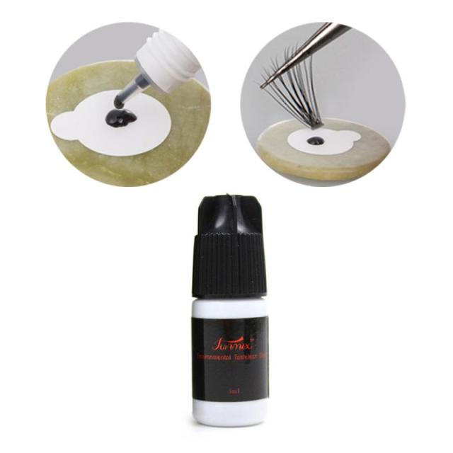 Fast Drying Eyelash Glue No Odor No Irritation Lasting Makeup Waterproof False Lashes Extension Adhesive Black Strong Sticky 6